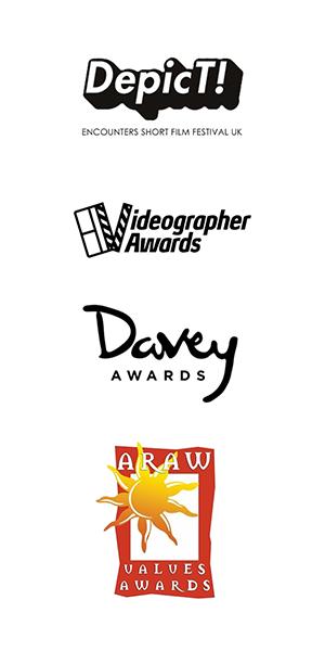 Logos of awards